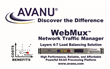 avanu logo and webux load balancing