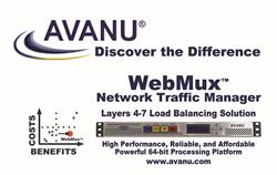 avanu logo and webux load balancing