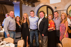 Richard Childress, Ty Dillon and Austin Dillon attend fundraiser with their family