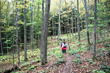 hiking in the fall on the AT