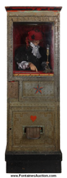 Princess Doraldina coin-op fortune teller machine, made circa 1928 by Michael Munves (est. $12,000-$15,000).