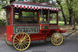 Cretors & Company (Chicago) Model D popcorn wagon with driver's seat, 12 feet 8 inches long (est. $10,000-$15,000).