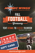 Atomic Wings Fall Football Giveaway