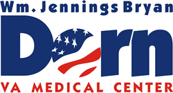 Logo with the words Dorn VA Medical Center