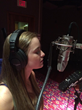 "Marissa Begin -in studio recording ""Chloe"" from ""MAX & WRIGLEY™"" at Center Sound Records, Inc."