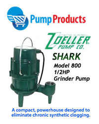 A 1/2 HP Grider Pump that's as tough as it is small!