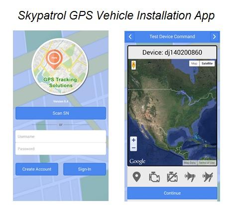 skypatrol gps vehicle installation app makes reliable gps. Black Bedroom Furniture Sets. Home Design Ideas
