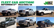 Atlanta, Public Auction Thursday, September 11th, 2014, selling fleet...