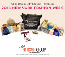 The Artisan Group® Gift Bag for New York Fashion Week.