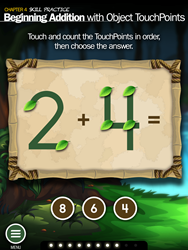 TouchMath Adventures screenshot