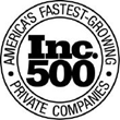 Rated #439 as one of America's Fastest-Growing Private Companies