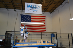 IDEAL Welding Machine at Marlin Steel
