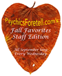 The Staff at PsychicsForetell.com is Sharing Their Fall Favorites...