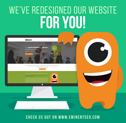 Eminent SEO New Website Launch