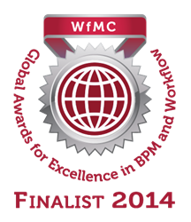 Bizagi Business Process Management workflow management coalition award finalists