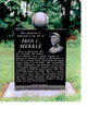 Fred Merkle Monument in Watertown, WI