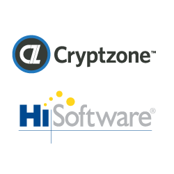 Cryptzone Acquires HiSoftware - Image of company logos
