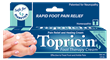 Topricin Foot Therapy Cream is natural, odorless, greaseless, and soothes tired, achy feet