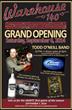 Warehouse 140 Restaurant & Saloon Grand Opening Event Has Heart