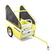 Standard Size pupRUNNER® run & ride bicycle trailer for dogs