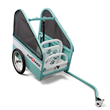 Small Size pupRUNNER® run & ride bicycle trailer for dogs