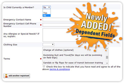 Event Manager Online Registration Software Now with Dependent Fields