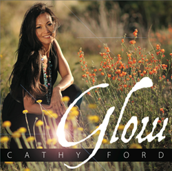 "Cathy Ford - CD Cover - ""Glow"""