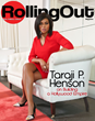 Taraji P. Henson Covers Rolling Out Magazine