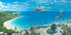 Beyond the Reef by Rob Gonsalves