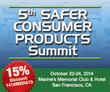 Infocast's Safer Consumer Products Summit Only Meeting to Coincide...