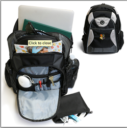 Durable School Backpack Protects iPad, Laptops, Tech Gear Available Now From Sunrise Hitek