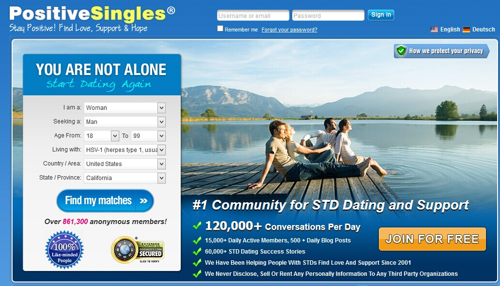 dating site with stds