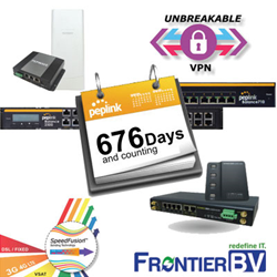 FrontierBV Europe Distributor for Peplink