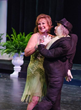 """Contestant Angie Kardashian dances shows her talent by performing a comedy dance lesson with """"Mr. Goodbar"""""""