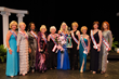"2014 Ms. Senior California Dr. Gayla Jackson poses with the ""Royal Court"" - all the past Queens who had won the title of Ms. Senior California through out the years."