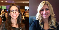 Marina Tasiopoulos, Director, Branch Operations, and Brunella Reid, Director, Marketing & Business Development