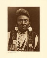 E.S. Curtis: North American Indian Plate 256: Chief Joseph