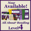 All About Learning Press, Inc. Releases All About Reading Level 4