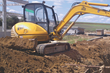 McLaren Advanced Rubber Track Technology Applied on Mini Excavator...