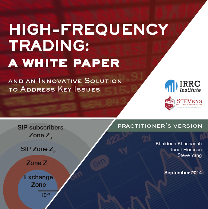 high frequency trading research papers Intraday trading strategies using high frequency data are proposed  research papers intraday pairs trading strategies on high frequency data: the.