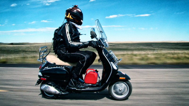 Indie Documentary Film Chronicles Cross-Country Scooter Event