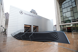 Mercedes-Benz Fashion Week Façade