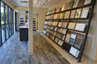 Trend wall at Hamilton Parker Company newly remodeled tile and stone showroom in Sharonville, Ohio.