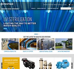 Pentair AES New Website