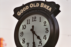 Brandywine Communications' Historic Clock in Downtown Brea