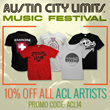 Austin City Limits Iconic Shop Promotion
