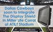 Dallas Cowboys integrate The Display Shield by Protective Enclosures Company into Miller Lite Corral