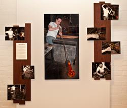 John Choi, glassblower, by Sally Wiener Grotta (American Hands)