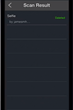 Censorgram Screen Shot - Scan Results Tab