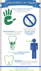 Information on teeth.